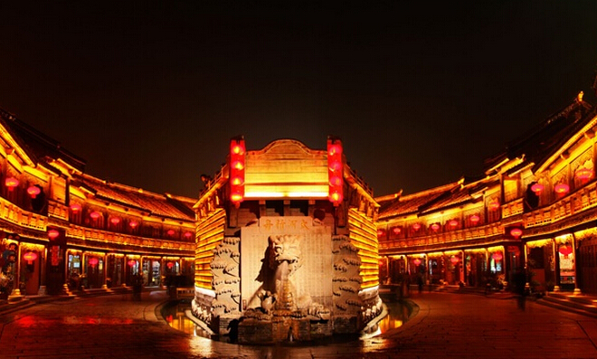 台儿庄大战纪念馆,影视城,115师根据地遗址,台儿庄古城三日游行程
