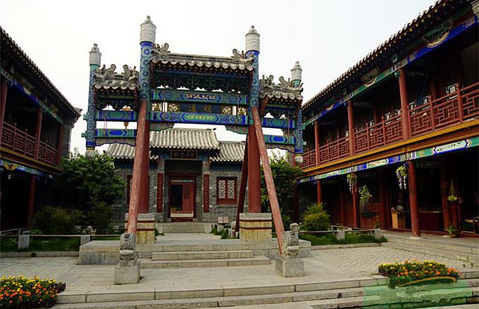 台儿庄古城内展馆--私塾文化展馆