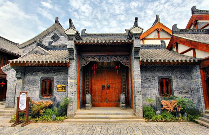 台儿庄古城内展馆--保寿堂