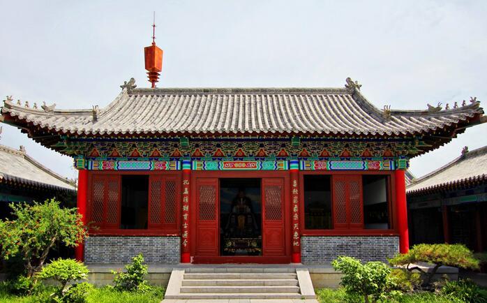 台儿庄古城景点_翠屏学馆