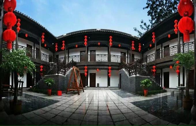 台儿庄状元楼酒店外观,台儿庄古城内状元楼酒店