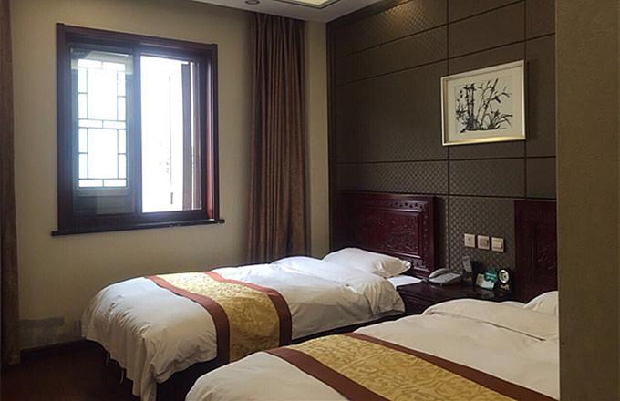 台儿庄状元楼酒店标准间,台儿庄古城内状元楼