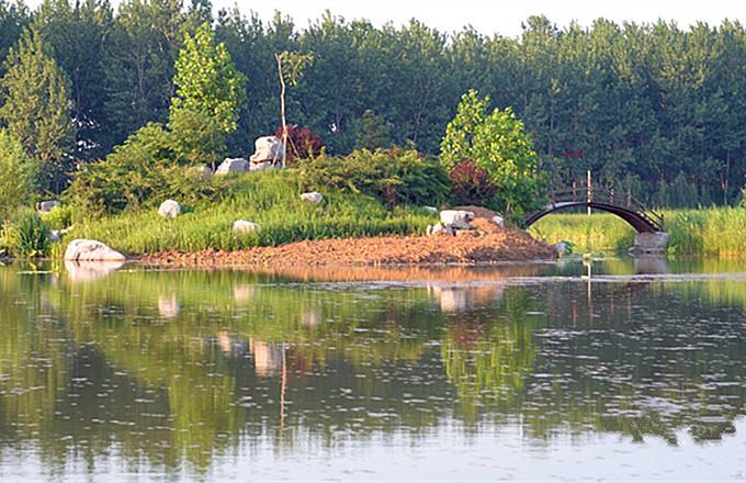 台儿庄运河湿地公园周边住宿