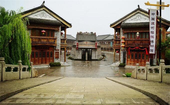 台儿庄古城都有什么展览馆