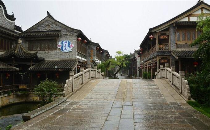 淮北周边自驾游景点台儿庄古城