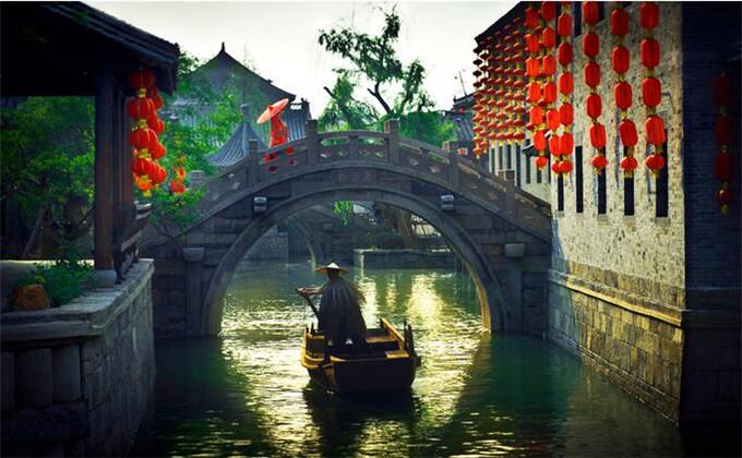 徐州周边两日游景点台儿庄古城景点