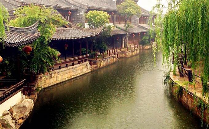 商丘周边两日游景点台儿庄古城景点