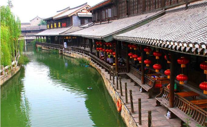 微山湖周边200公里景点台儿庄古城