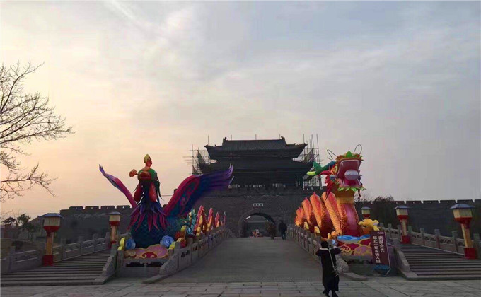 连云港周边旅游景点台儿庄古城