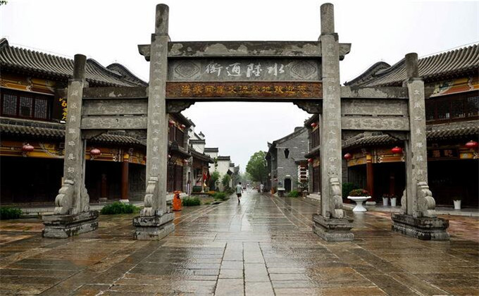 淮北周边旅游景点台儿庄古城