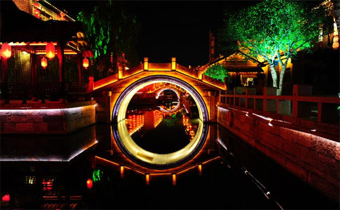 兰陵生态园附近二日游景点台儿庄古城_兰陵生态园附近二日游景点推荐