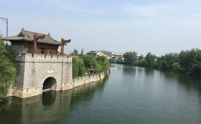 日照周边300公里景点台儿庄古城