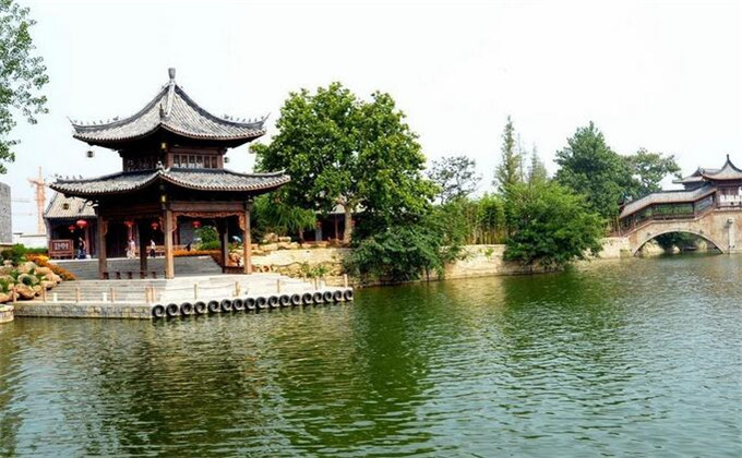 济宁周边城市景点台儿庄古城