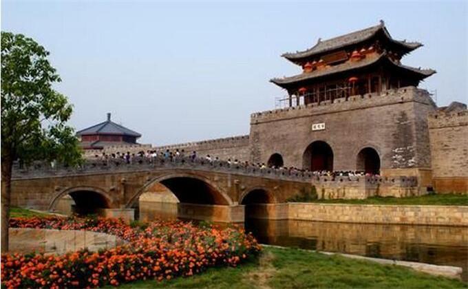 淮北周边城市景点台儿庄古城