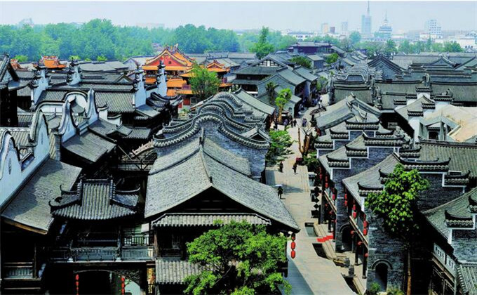 临沂附近二日游景点台儿庄古城