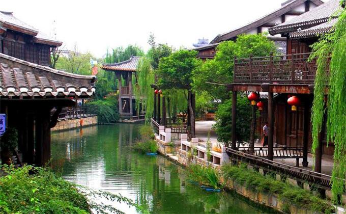 商丘附近二日游景点台儿庄古城