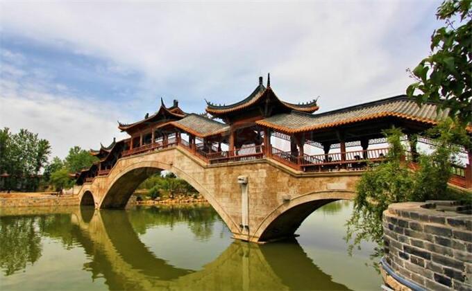 日照附近二日游景点台儿庄古城