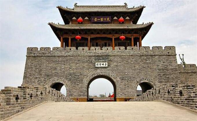 云龙湖周边著名景点台儿庄古城