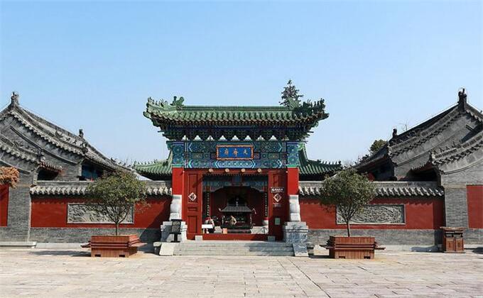 临沂大峡谷周边著名景点台儿庄古城