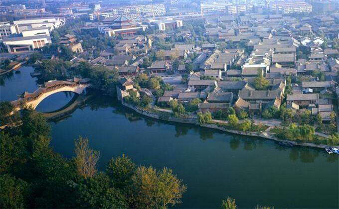 曲阜三孔周边自驾游景点台儿庄古城