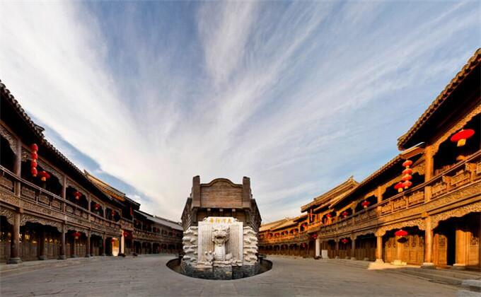 楚王陵周边旅游景点台儿庄古城