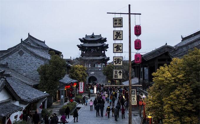 日照万平口周边旅游景点台儿庄古城