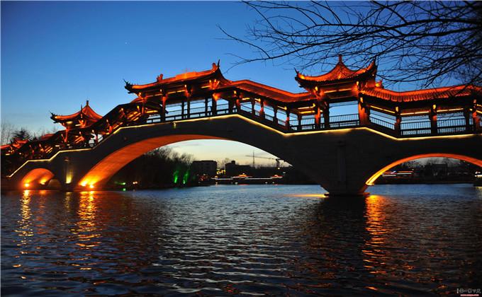 兰陵生态园周边300公里景点台儿庄古城