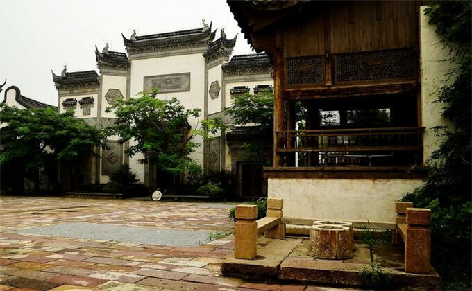 楚王陵周边城市旅游景点台儿庄古城