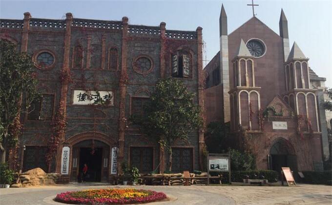 云龙湖周边的旅游景点台儿庄古城