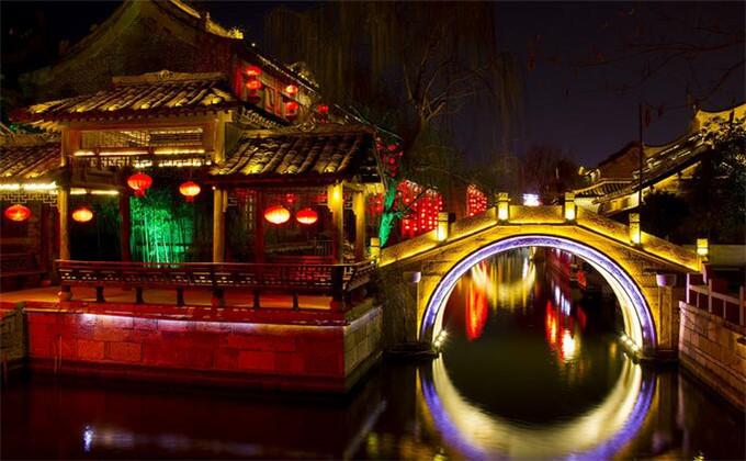 微山湖周边的旅游景点台儿庄古城