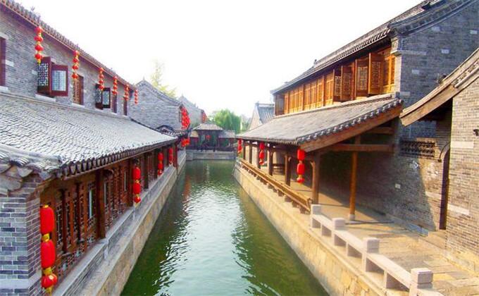 龟山汉墓附近一日游景点台儿庄古城