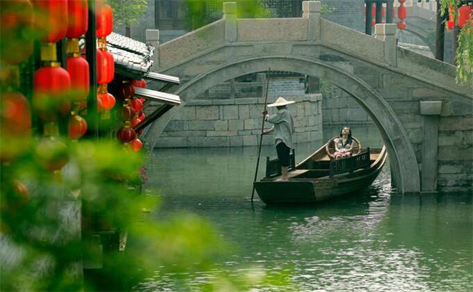 济宁三孔附近一日游景点台儿庄古城
