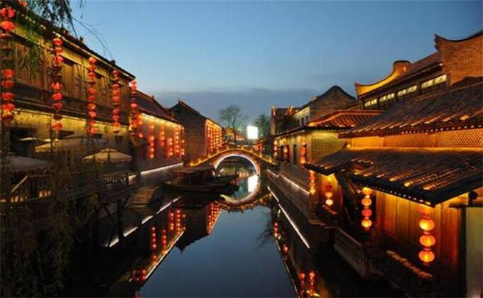 临沂大峡谷附近二日游景点台儿庄古城