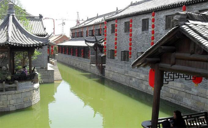 兰陵生态园附近二日游景点台儿庄古城