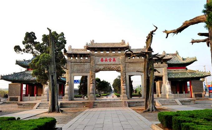 台儿庄古城周边景点三孔