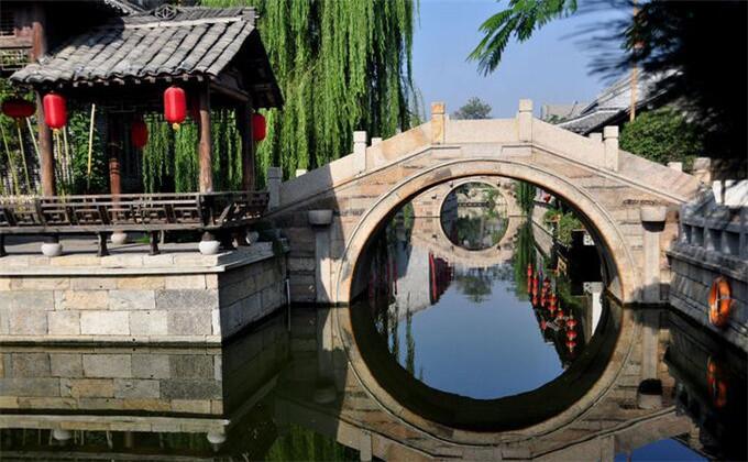 楚王陵附近一日游景点台儿庄古城