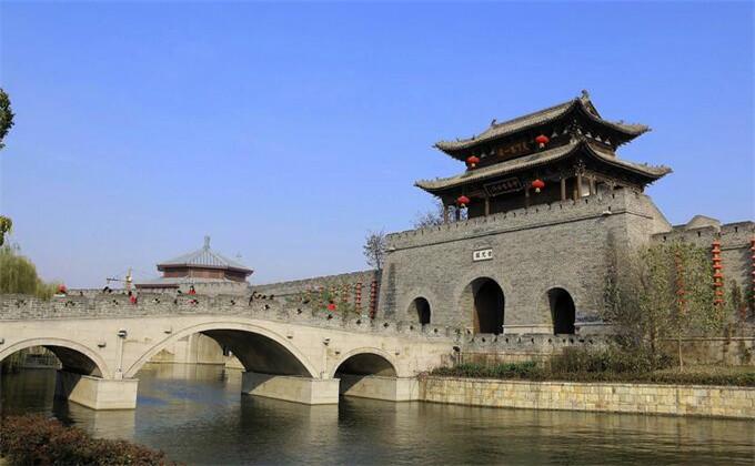 泰安周边景点台儿庄古城