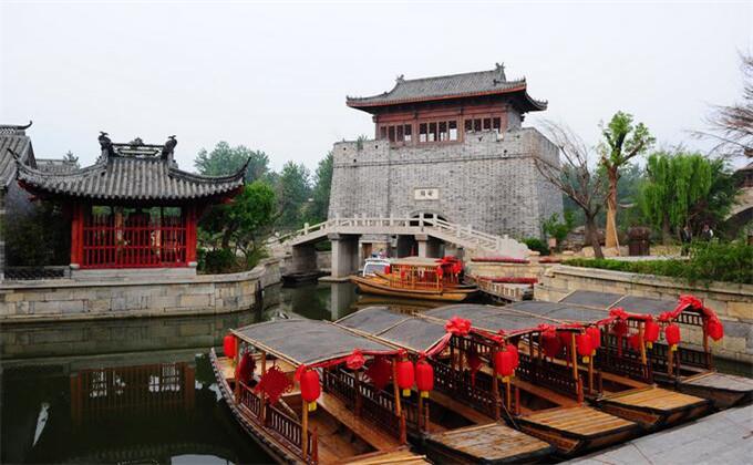 连云港周边200公里景点台儿庄古城
