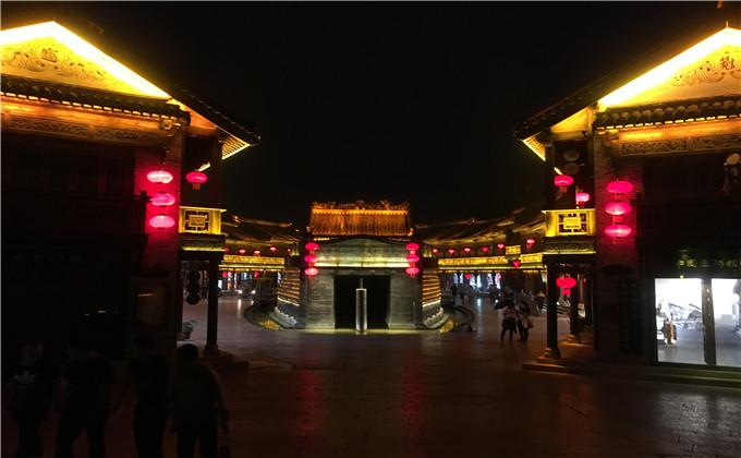 台儿庄古城美食街