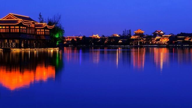 怎么自行游台儿庄古城?