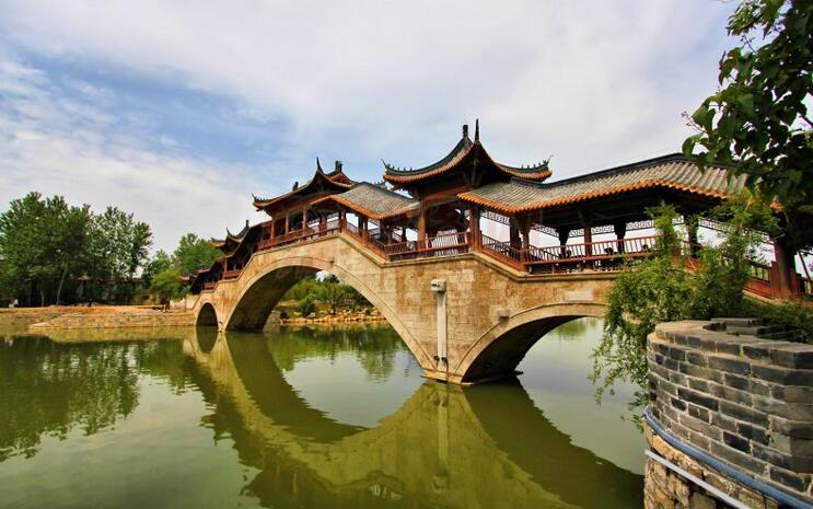 台儿庄古城八大建筑之一闽南建筑