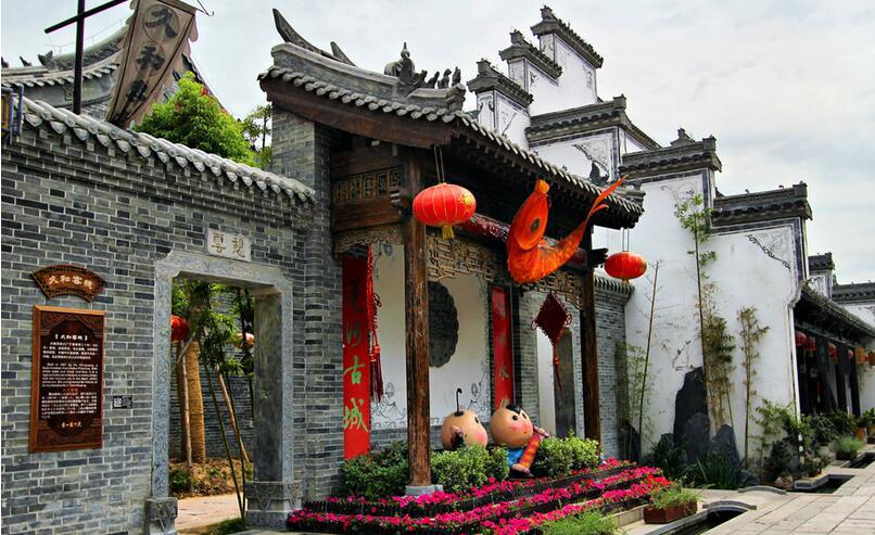 枣庄台儿庄古城住宿位置,距离西门近的古城住宿: