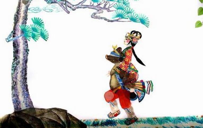 台儿庄古城非物质文化遗产之鲁南皮影戏