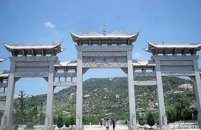 台儿庄周边旅游景点:滕州莲青山风景区