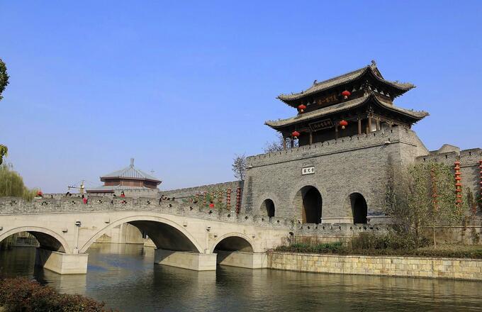 枣庄台儿庄古城旅游攻略–住在台儿庄古城内比古城外酒店的优势