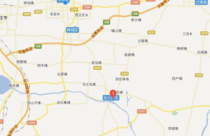 青岛到台儿庄古城旅游地图攻略