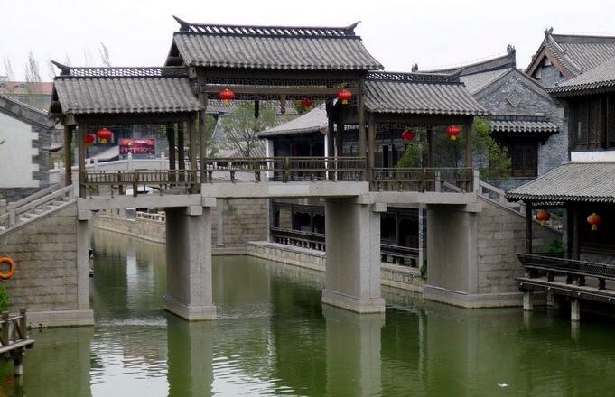 台儿庄古城内景点大战遗址公园在哪?有什么好玩的?