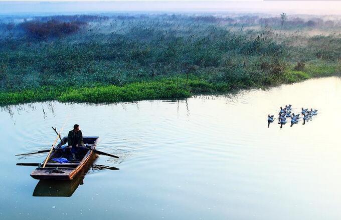 济南游台儿庄到微山湖有多远