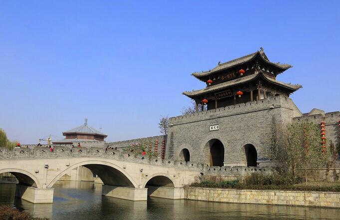 北京游江北水乡,运河古城景区