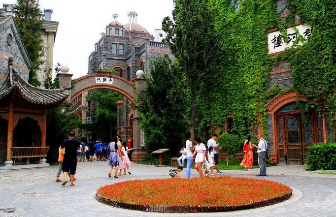 上海游江北水乡,运河古城景区